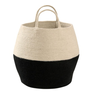 Lorena Canals Zoco Basket - Black & Natural