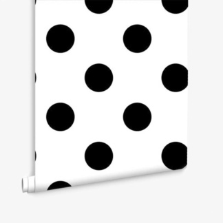 Dotty Black Wallpaper