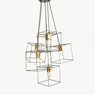 Square Cluster Pendant