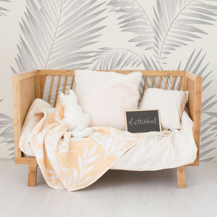 Snuggle Up With These Gorgeous New Bunni Baby Blankets - Botanical