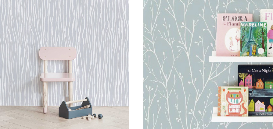 Subtle Wallpapers for Kids Rooms