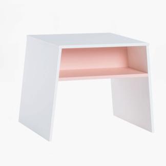 Tuli Toddler Table - White & Pink