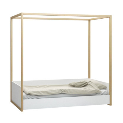 4You Canopy Bed lowest setting