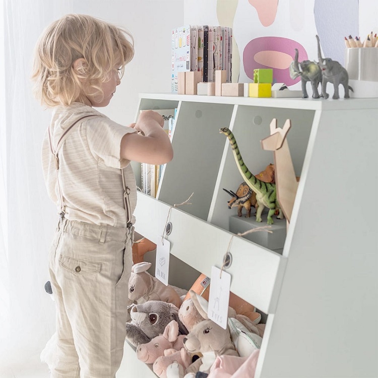 How to Create a Montessori Bedroom - Storage