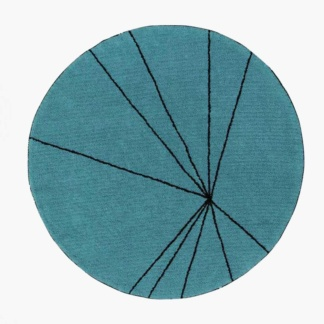 Lorena Canals Trace Rug - Petrol