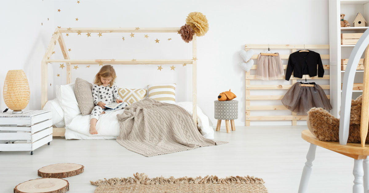 save off 58643 24a3d How to Create a Montessori Bedroom - Clever Little Monkey