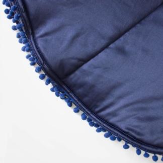 Moo Cachoo Pom Pom Playmat - Midnight Blue
