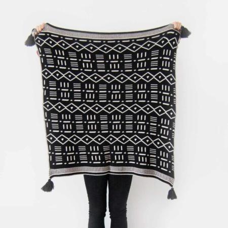 Bunni Aztec Baby Blanket