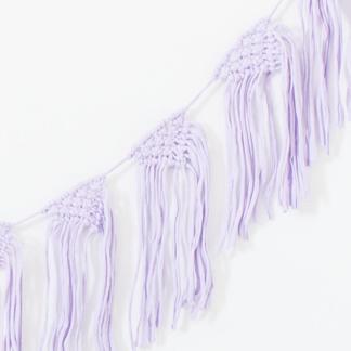 Bunni T-Shirt Bunting - Lilac