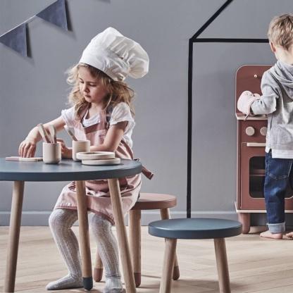 Play Oak Table - Blueberry