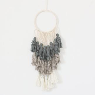 Ombre Tassel Hanging - Grey