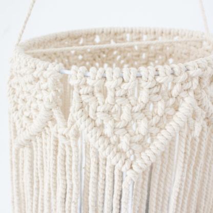Bunni Macrame Mobile Lightshade - Close-up