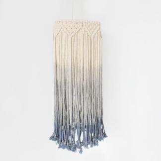 Bunni Macrame Mobile Lightshade - Vintage Blue