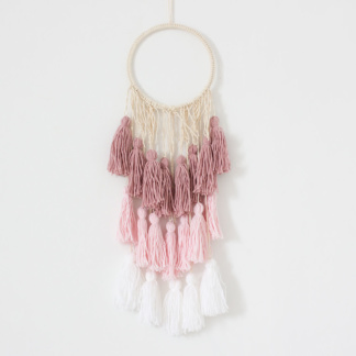 Bunni Ombre Tassel Hanging - Pink