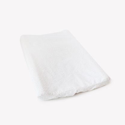 Grey Messy Dot Change Mat Cover