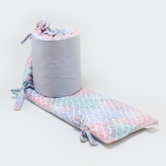 Bunni Mermaid Cot Bumper Cover
