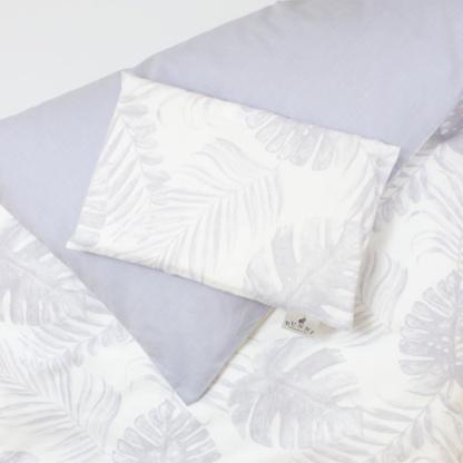 Bunni Grey Tropical Leaf Cot Set