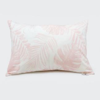 Bunni Nude Pink Tropical Leaf Junior Pillow