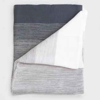 Bunni Ombré Blanket - Grey