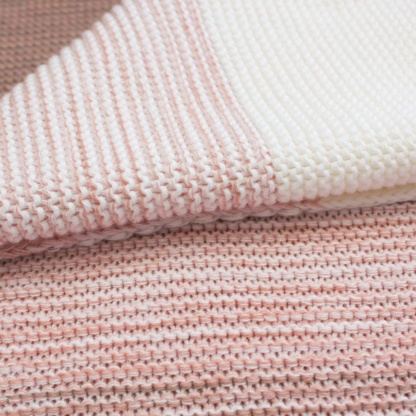 Bunni Ombre Blanket - Vintage Nude Pink