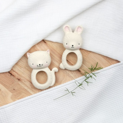 A Lovely Little Company Bunny Teething Ring