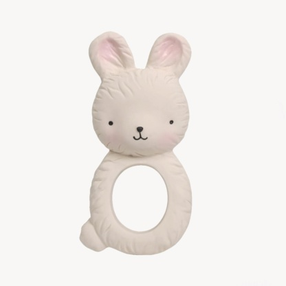 A Little Lovely Company Bunny Teething Ring