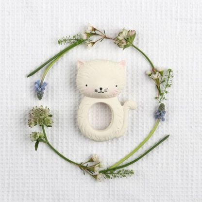 A Lovely Little Company Kitty Teething Ring