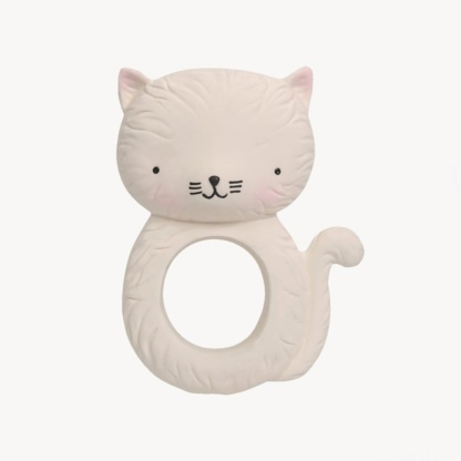 A Little Lovely Company Kitty Teething Ring