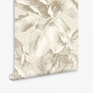 Aurelia Palm Leaf Wallpaper - Brown