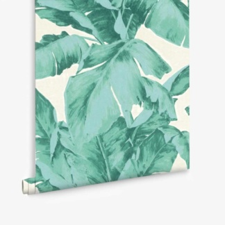 Aurelia Palm Leaf Wallpaper - Green