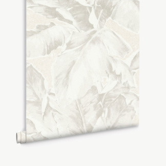 Aurelia Palm Leaf Wallpaper - Ivory