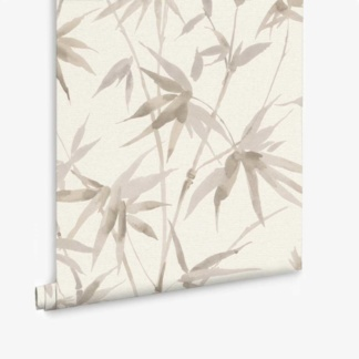 Bamboo Texture Wallpaper - Ivory
