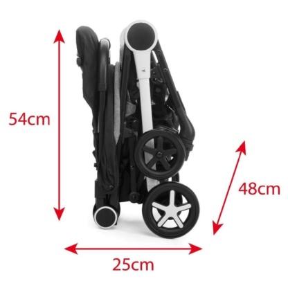 Chicco MiiniMo 2 Stroller - Black Night
