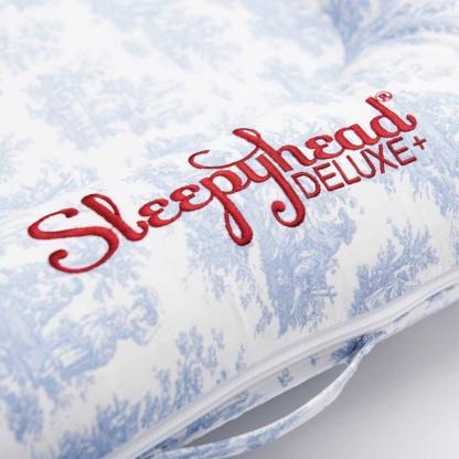 Sleepyhead Toile de Jouy Dusty Blue Deluxe Pod Cover