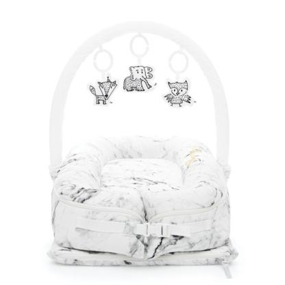 Sleepyhead Carrara Marble Deluxe Pod & Toy Set - Cheeky Chums