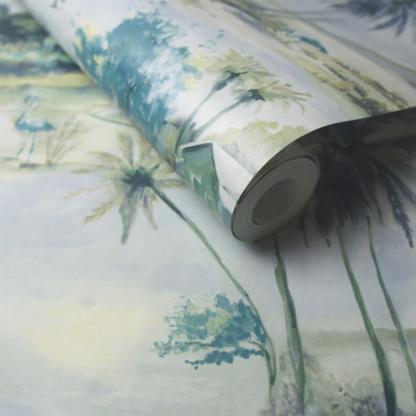 Horizon Wallpaper - Teal