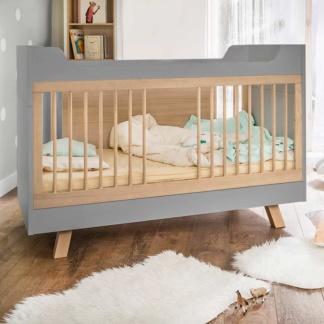 4You Cot Bed - Grey & Oak