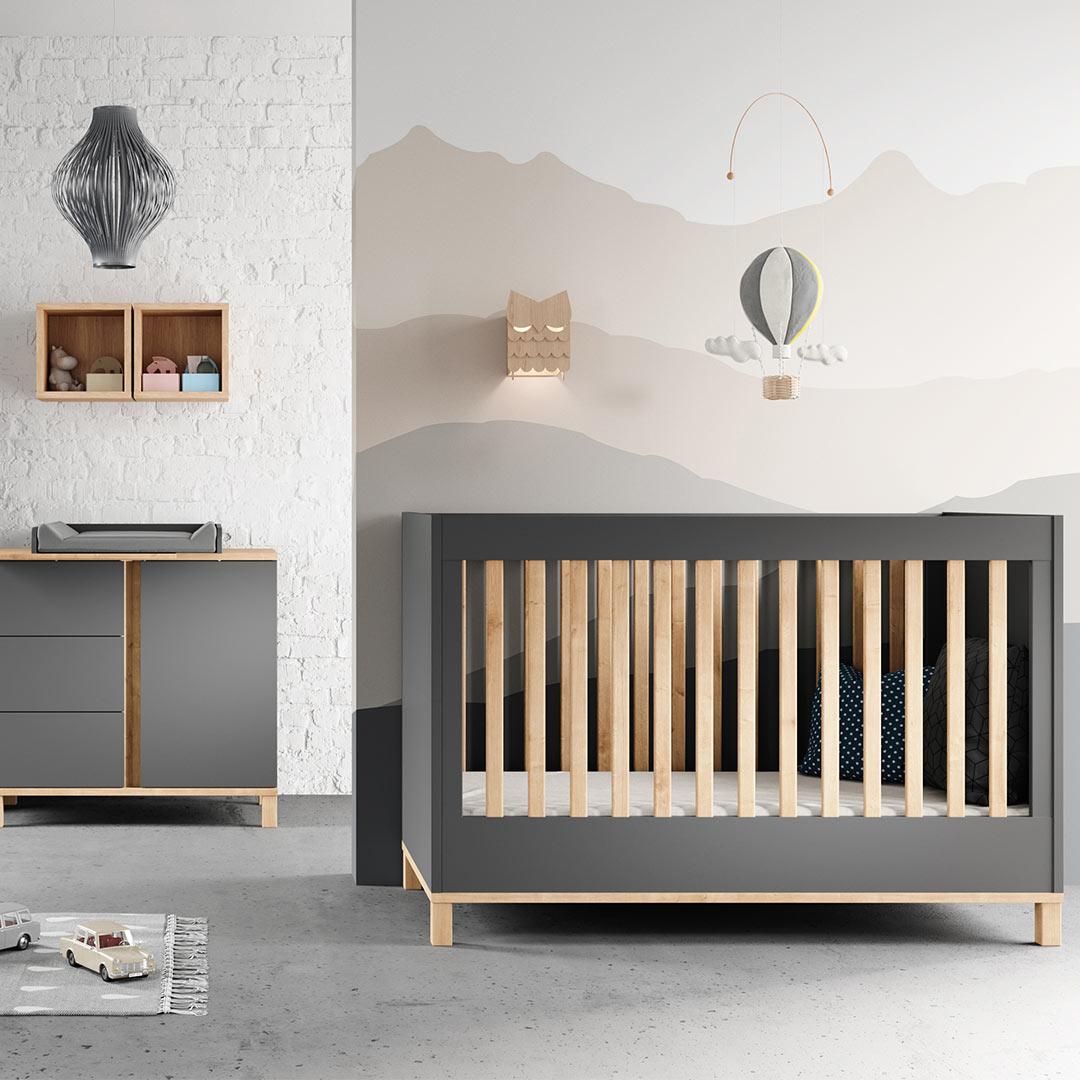 Vox Altitude Cot Bed - Graphite