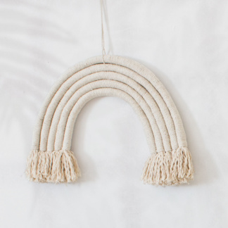 Bunni Rainbow Wall Hanging - Natural