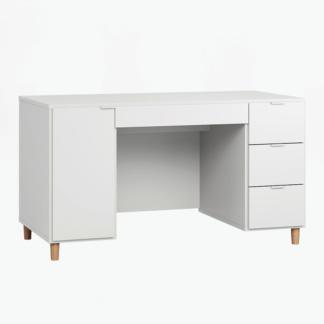 Vox Simple Desk - White