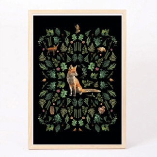 Bunni Into The Woods Art Print