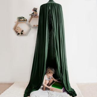 Moo Cachoo Hanging Tent Canopy - Emerald Green