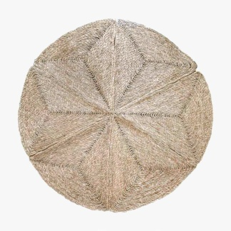 Geometric Seagrass Rug - Medium