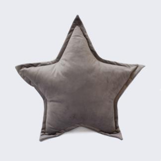 Bunni Velvet Star Scatter - Misty Grey