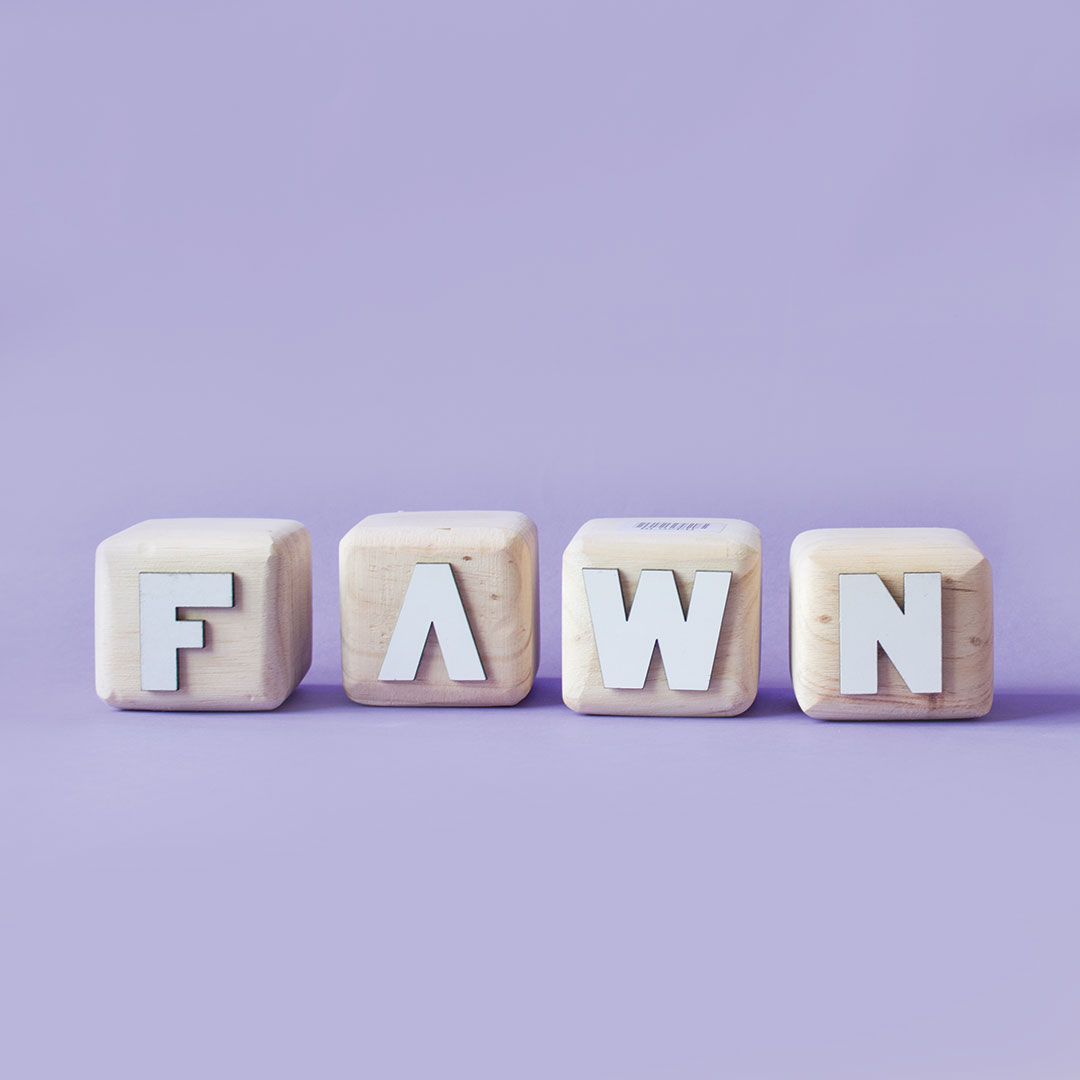 Wood Block Letters - FAWN