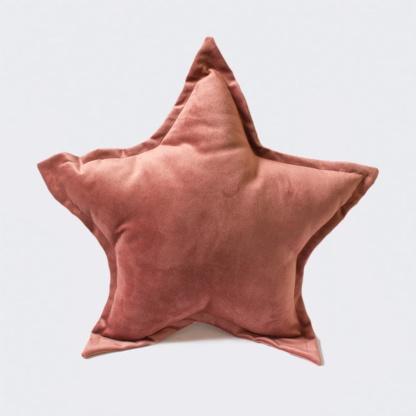 Bunni Velvet Star Scatter - Dusty Rose