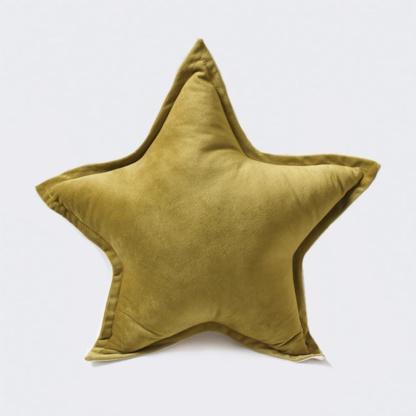 Bunni Velvet Star Scatter - Old Gold