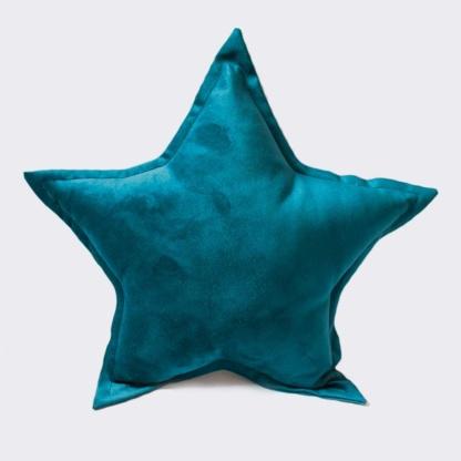 Bunni Velvet Star Scatter - Petrol