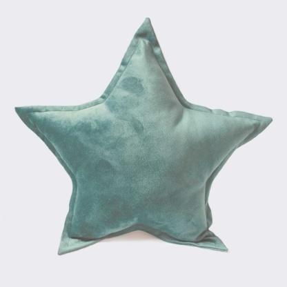 Bunni Velvet Star Scatter - Seafoam