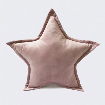 Bunni Velvet Star Scatter - Vintage Nude Pink